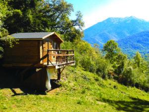 cabane dans les arbres Pyrénées
