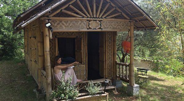 """Vivre un weekend insolite dans une cabane, la blogueuse """"HappyCulture et vous"""" l'a fait !"""