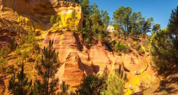 A la découverte du Lubéron et du sentier des Ocres, le Grand Canyon à la française !