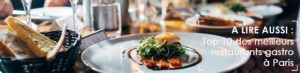 liste restaurants gastronomiques paris