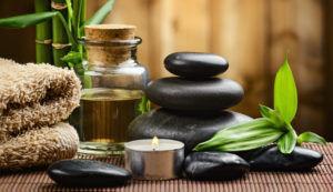 Pierres chaudes pour massage bien-être