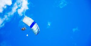 box saut parachute tandem