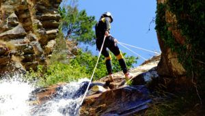 canyoning sensations fortes