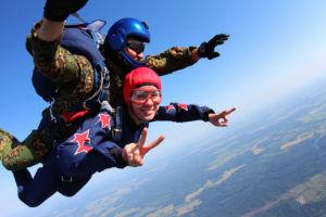 coffret cadeau saut parachute