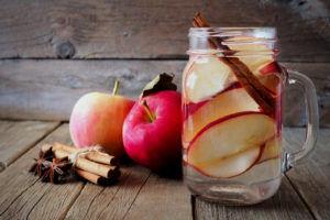 eau aromatisée pomme