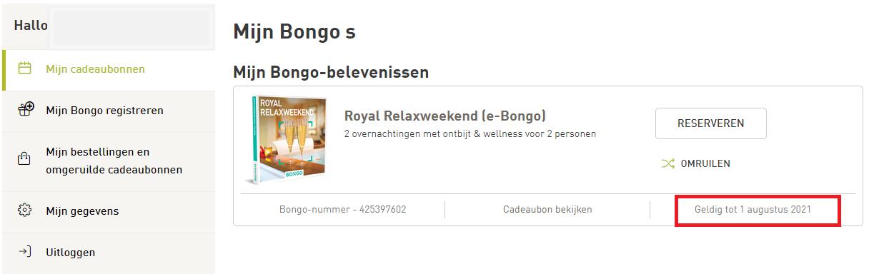Bongo Nummer