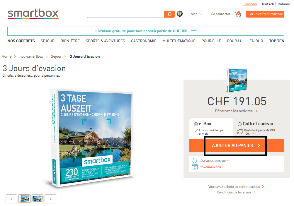 Coupons der reduction