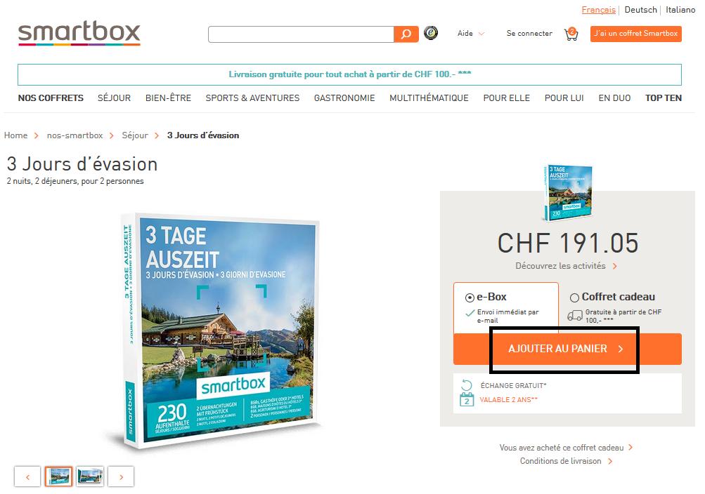 Questions fr quentes smartbox - Code promo mister auto frais port offert ...