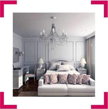 Immagine camera di un hotel di lusso