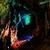Descente en rappel dans une grotte