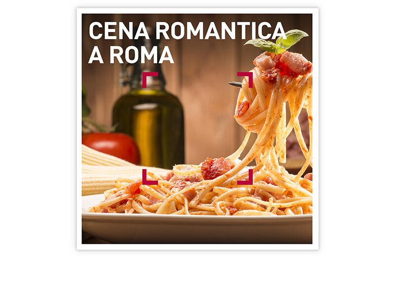 Cofanetto regalo - Cena romantica a Roma - Smartbox