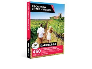 56903a176865a Caja Regalo Escapada entre viñedos - Dakotabox