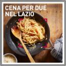 Cena per due nel Lazio