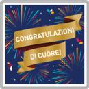 Congratulazioni di cuore!