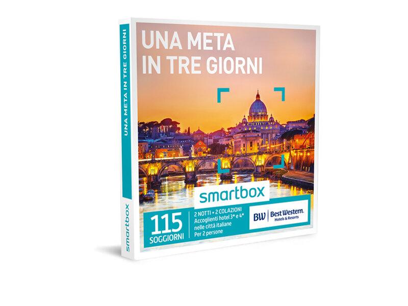 Cofanetto regalo - Una meta in tre giorni - Smartbox