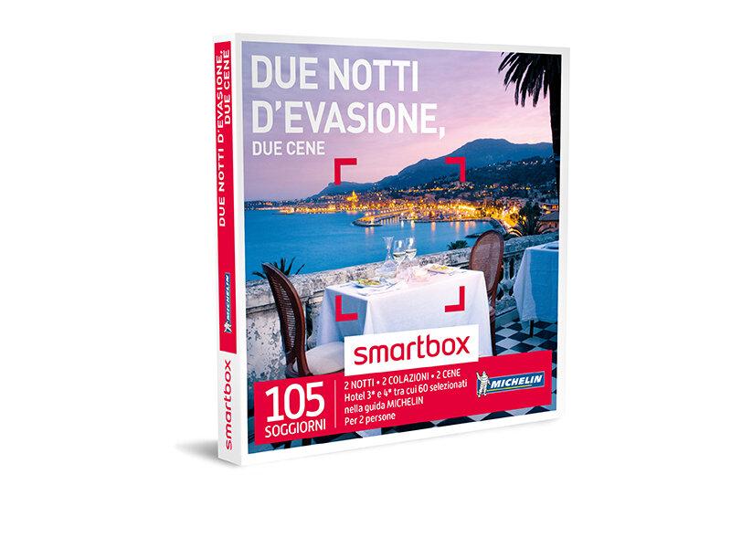 Cofanetto regalo due notti d 39 evasione due cene smartbox for Cofanetti soggiorno