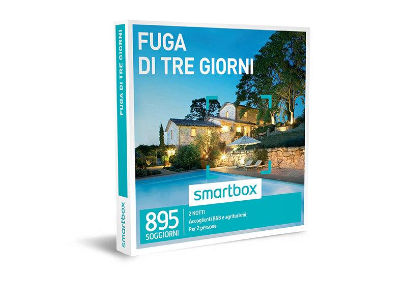Cofanetto regalo - Fuga di tre giorni - Smartbox