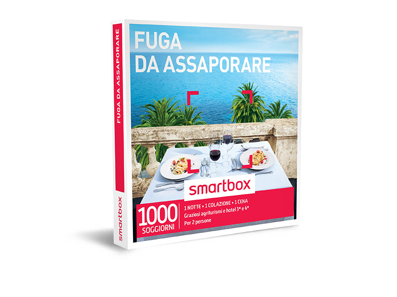Cofanetto regalo - Fuga da assaporare - Smartbox
