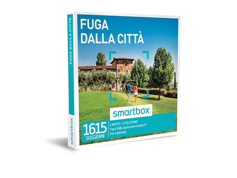 Cofanetto regalo - Fuga dalla città - Smartbox