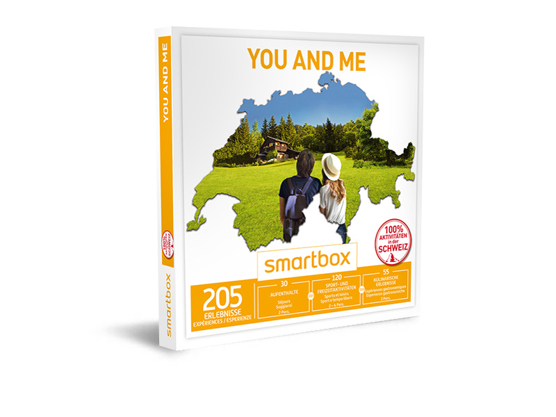 Geschenkbox - You and me - Smartbox