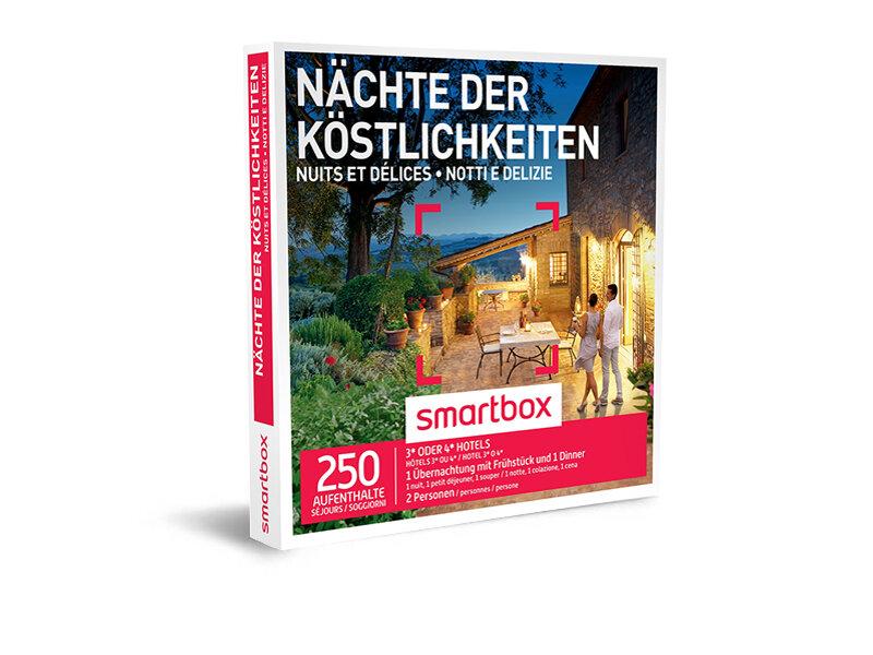 Geschenkbox - Nächte der Köstlichkeiten - Smartbox