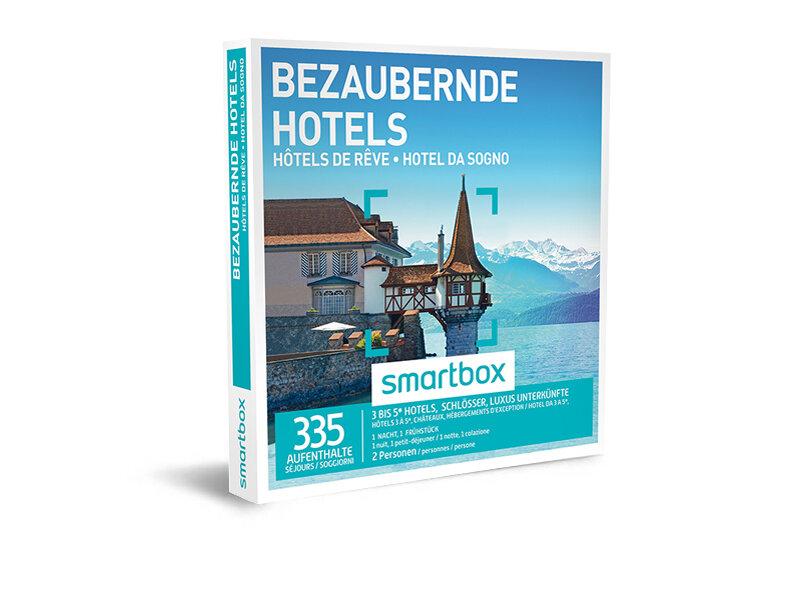 Geschenkbox - Bezaubernde Hotels - Smartbox