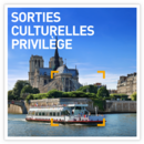 Sorties culturelles privilège