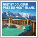 Nuit et douceur près du Mont-Blanc