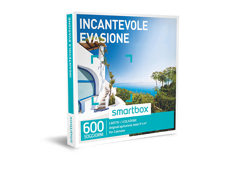 Cofanetto regalo - Incantevole evasione - Smartbox