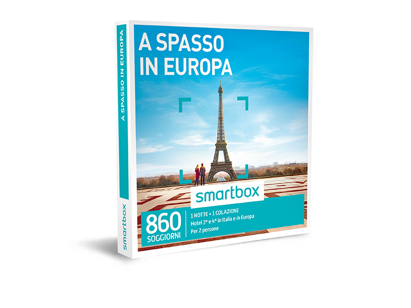 Cofanetto regalo - A spasso in Europa - Smartbox