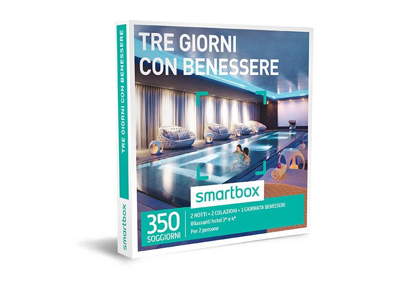 Cofanetto regalo - Tre giorni con benessere - Smartbox