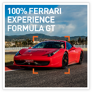 100% Ferrari Experience - Formula GT