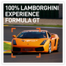 100% Lamborghini experience - Formula GT