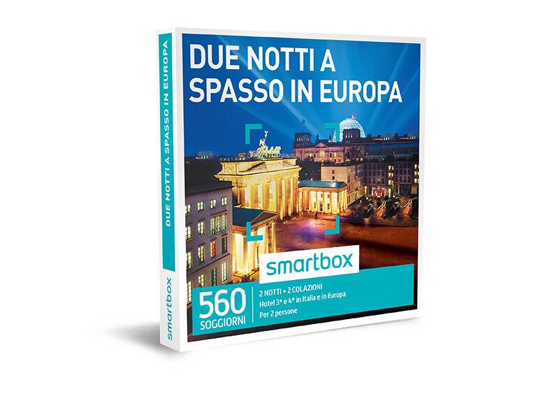 Cofanetto regalo - Due notti a spasso in Europa - Smartbox