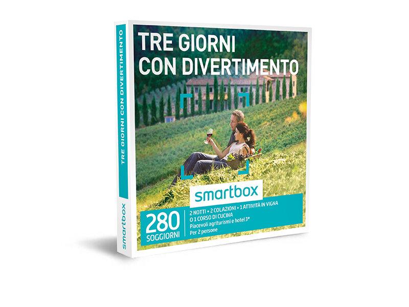 Cofanetto regalo - Tre giorni con divertimento - Smartbox