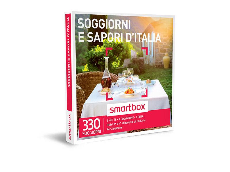 Cofanetto regalo - Soggiorni e sapori d\'Italia - Smartbox