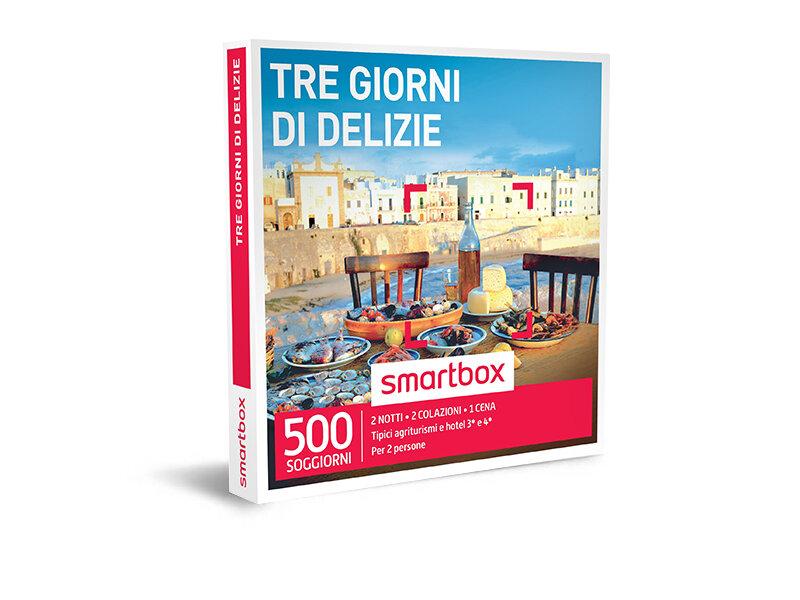 Cofanetto regalo - Tre giorni di delizie - Smartbox