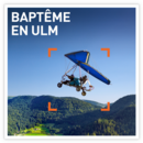 Baptême en ULM