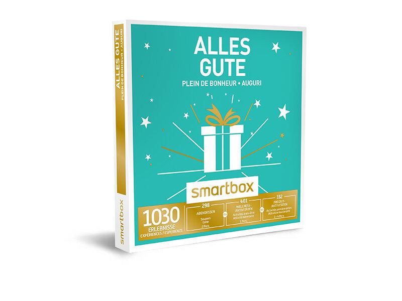 Geschenkbox - Alles Gute - Smartbox