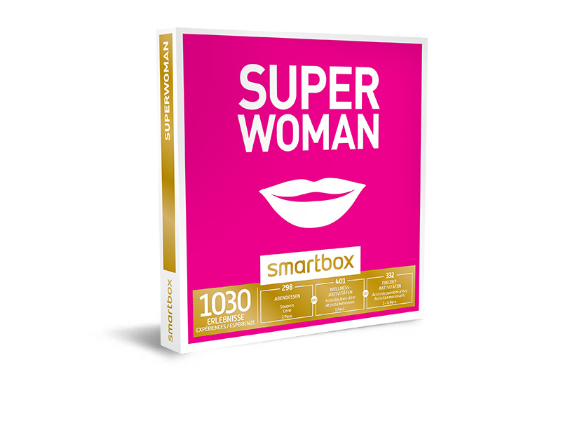 Geschenkbox - Superwoman - Smartbox