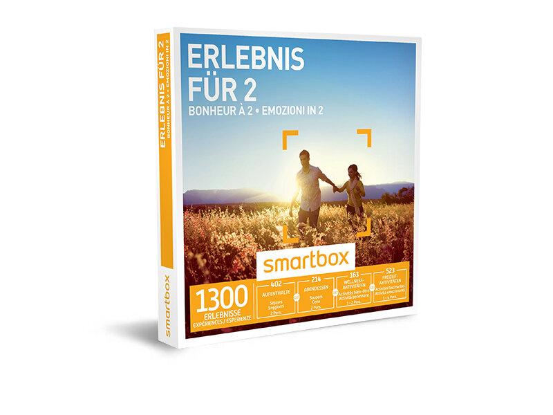 Geschenkbox - Erlebnis für 2 - Smartbox