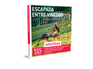 9b133f37e7b4d Caja regalo Escapada entre viñedos - Smartbox
