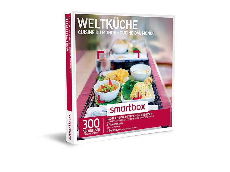 Geschenkbox - Weltküche - Smartbox