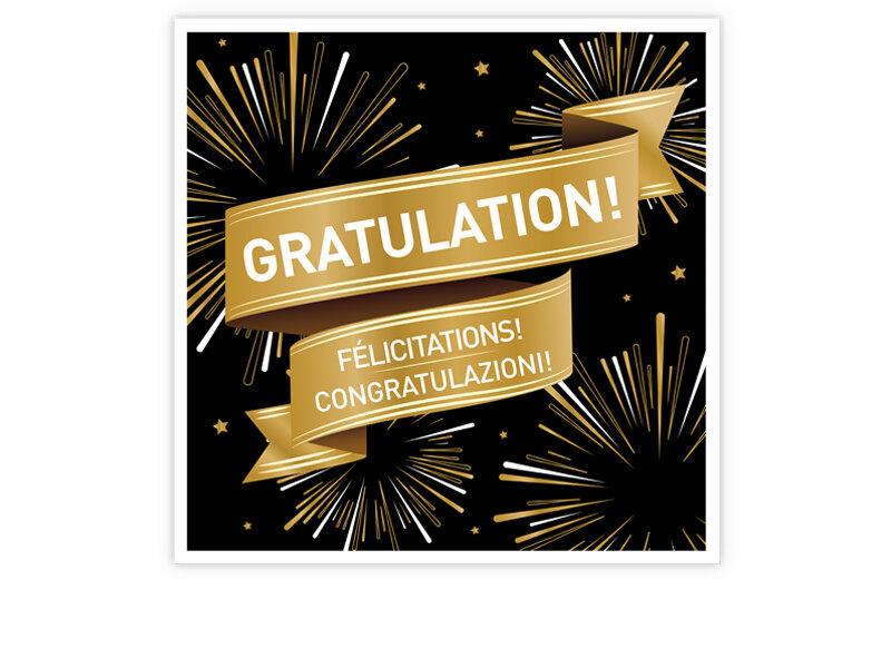Geschenkbox - Gratulation! - Smartbox