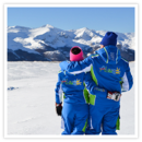 Imparate a sciare tra i fantastici paesaggi dell'Altopiano delle Rocche