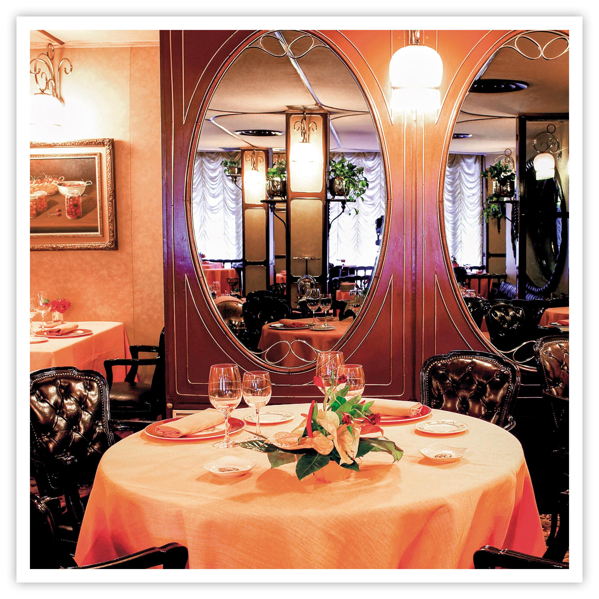 Cena en el restaurante Via Veneto con Estrella MICHELIN 2020