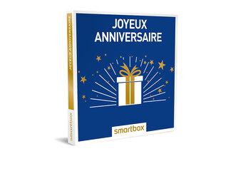 huge discount 34fdf 7fb9b Coffret cadeau Joyeux anniversaire - Smartbox