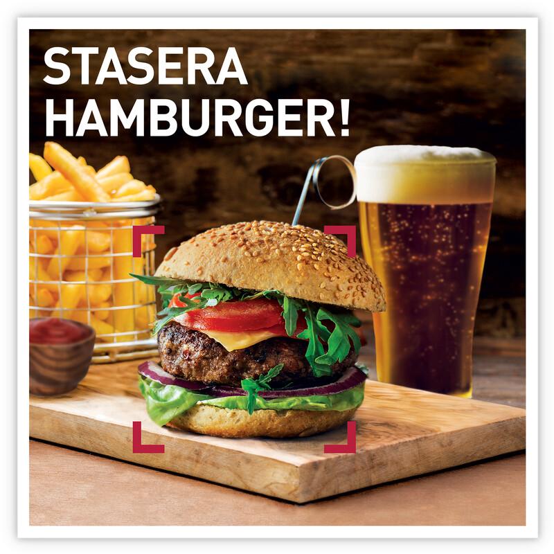 Stasera hamburger!