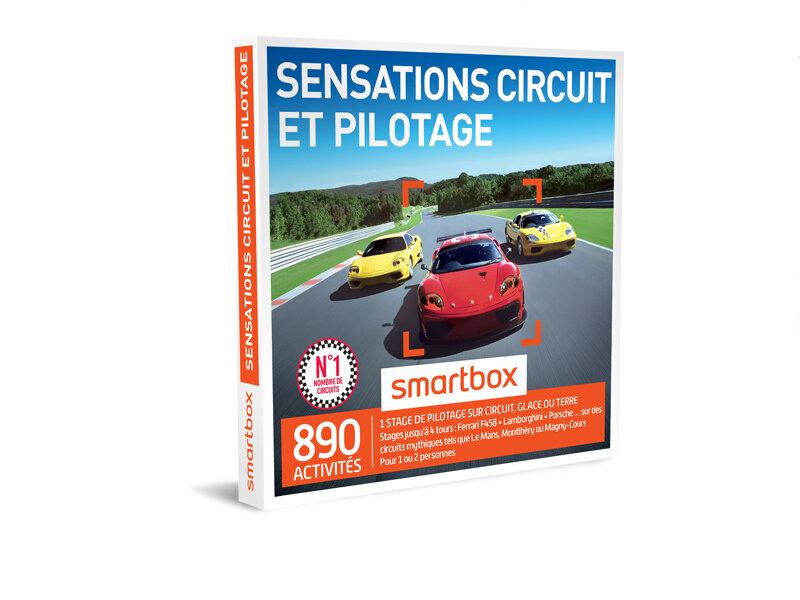 coffret cadeau sensations circuit et pilotage smartbox. Black Bedroom Furniture Sets. Home Design Ideas