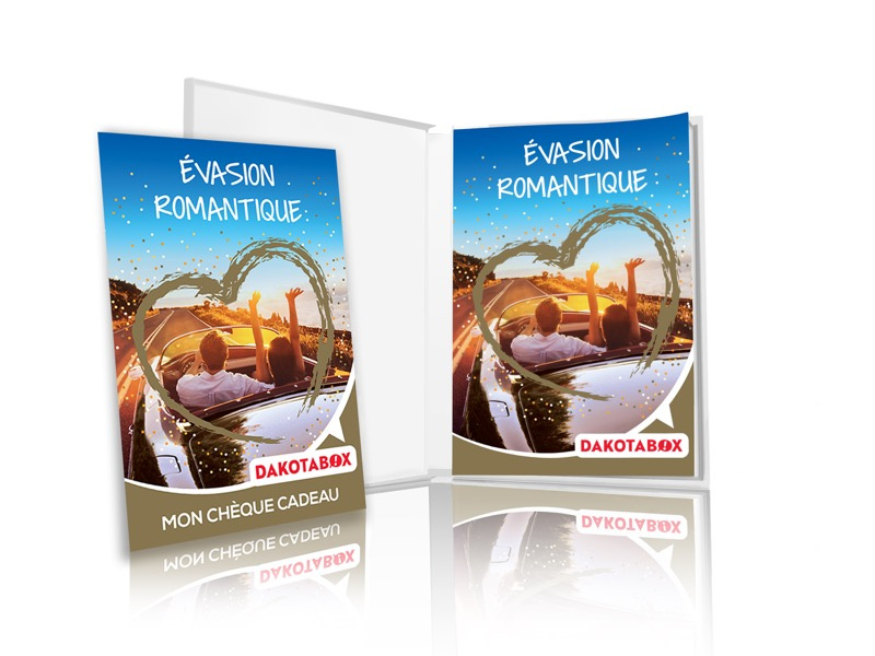 Coffret cadeau Évasion romantique - Dakotabox